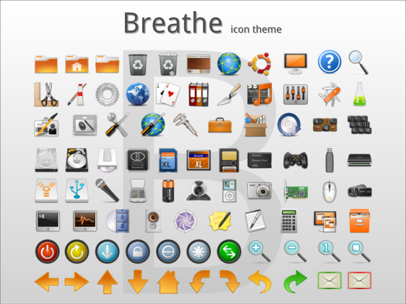 Breathe Icon Theme